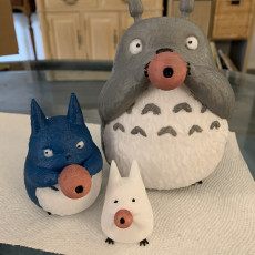 Picture of print of Totoro Family
