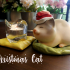 Christmas cat image