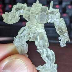 """Picture of print of CN9-YLW Centurion """"Yen Lo Wang"""" for Battletech"""
