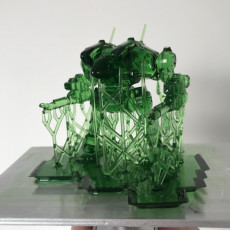 Picture of print of Cougar Prime for Battletech