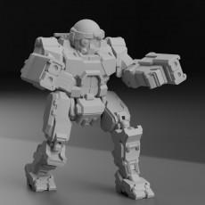 COM-TDK Commando  The Death's Knell  for Battletech