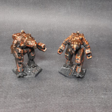 Picture of print of CRB-20 Crab for Battletech