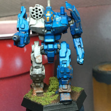 Picture of print of GRF-1N Griffin for Battletech