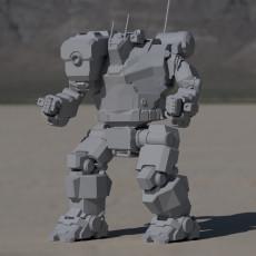 HBK-4G Hunchback for Battletech