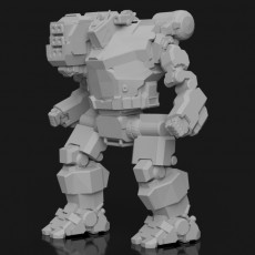 HBK-4P Hunchback for Battletech