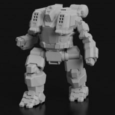 HBK-4SP Hunchback for Battletech