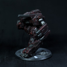 Picture of print of Hellfire Prime for Battletech