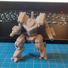 "Picture of print of Huntsman Prime AKA ""Nobori-nin"" for Battletech"