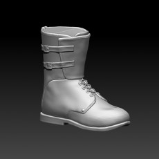 Men's Military Boots, STL File for printer 3d