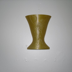 Wall hanging vase 3D print model