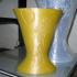 Wall hanging vase 3D print model image