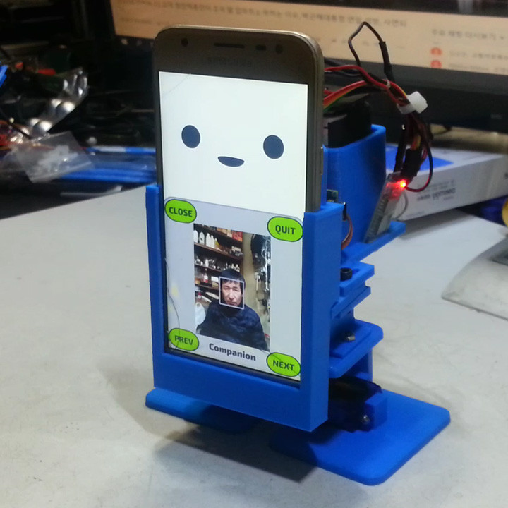 Create an artificial intelligence smartphone robot(MobBob)