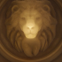 Lion - 3D optical illusion image