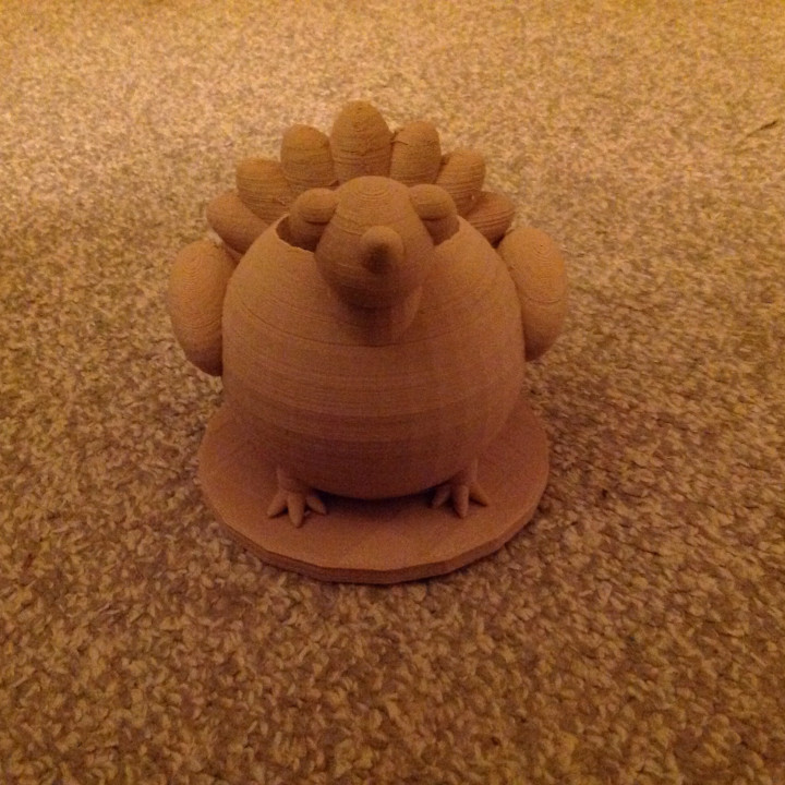 Turkey Pen Holder