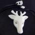 Deer necklace image