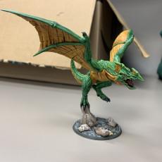 Picture of print of Xol'Toa on Sky-Terror - Goldmaw Lizard Prince Hero on Sky Terror