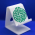 Celtic circle knot phone stand image