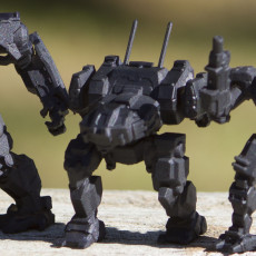 Picture of print of JR6-F Jenner for Battletech
