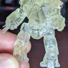 Picture of print of Kodiak Prime for Battletech