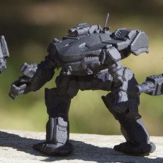 Picture of print of KGC-010 King Crab for Battletech
