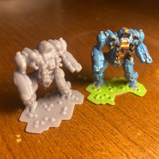 Picture of print of Piranha 1 for Battletech