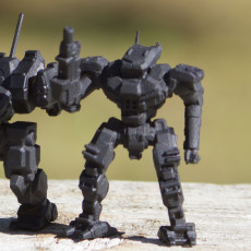 Picture of print of PNT-9R Panther for Battletech