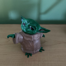 Picture of print of The Child (Baby Yoda)