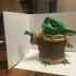 The Child (Baby Yoda) print image
