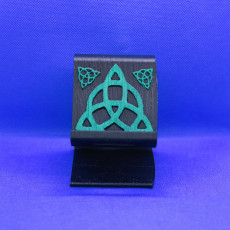 Celtic trinity phone stand