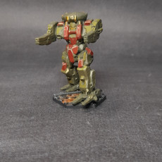 Picture of print of RFL-IIC Rifleman for Battletech