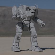 SHD-2H Shadowhawk for Battletech