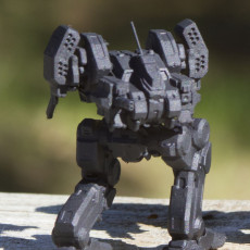 Picture of print of Sunspider Prime for Battletech