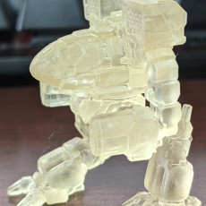 """Picture of print of Timberwolf Prime, aka """"Madcat"""" for Battletech"""