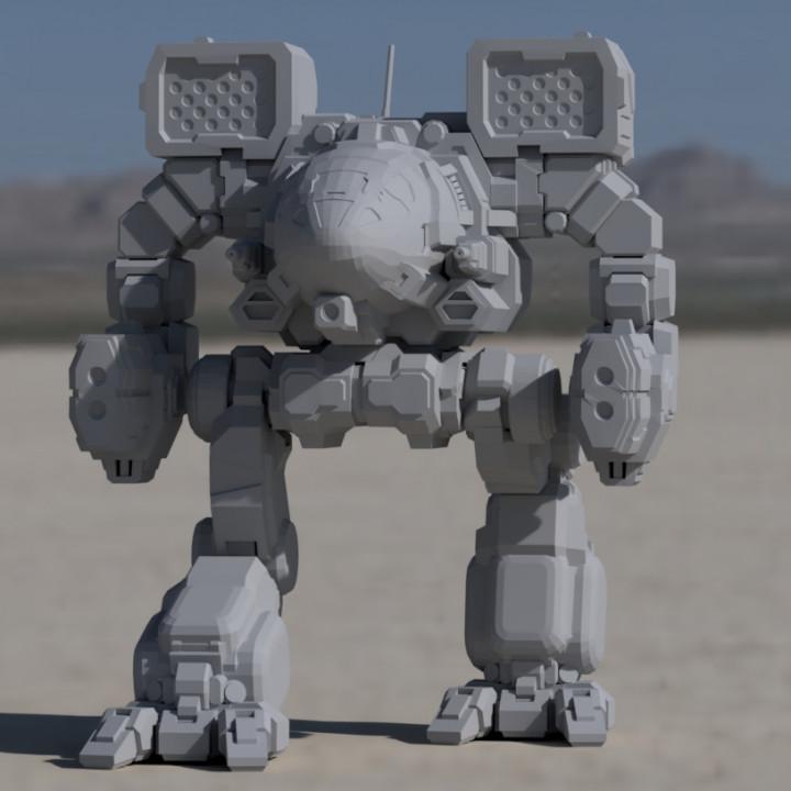 """Timberwolf Prime, aka """"Madcat"""" for Battletech"""