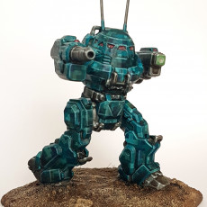 Picture of print of UM-R60 Urbanmech for Battletech