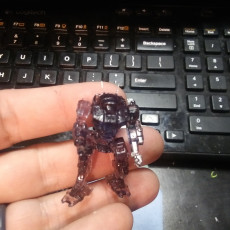 Picture of print of VND-1R Vindicator for Battletech?