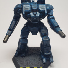 Picture of print of WHM-6R Warhammer for Battletech