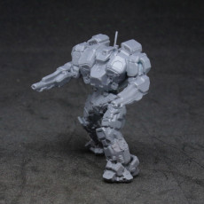 Picture of print of WHM-IIC Warhammer for Battletech