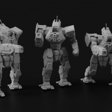 WFL-1-P Wolfhound for Battletech