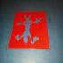 Stencil vil coyote image