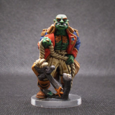 Picture of print of Orc captain