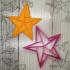 Cortante de estrella de papel origami - cortante de galletita, masa y fondand image
