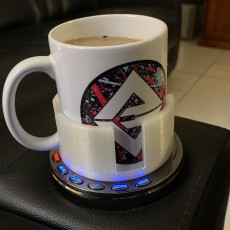 Mug Cup Holder Converter for Lounge Chairs