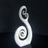Double Spiral decorative art image