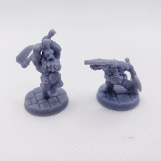 Picture of print of Iro & Kez - Dwarf berzerkers This print has been uploaded by Taylor Tarzwell