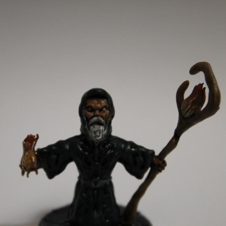 Wizard (2) - 28mm miniature