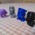 Bot Blitz Big Brute Battery Bit Battle 3D Printed Strategy Game image