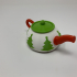Robotic Christmas Teapot image