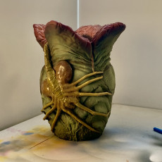 Picture of print of Alien Egg Pen Holder