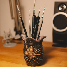 Picture of print of Alien Egg Pen Holder 这个打印已上传 supaplex